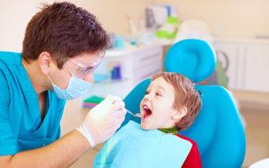 cavities in milk teeth