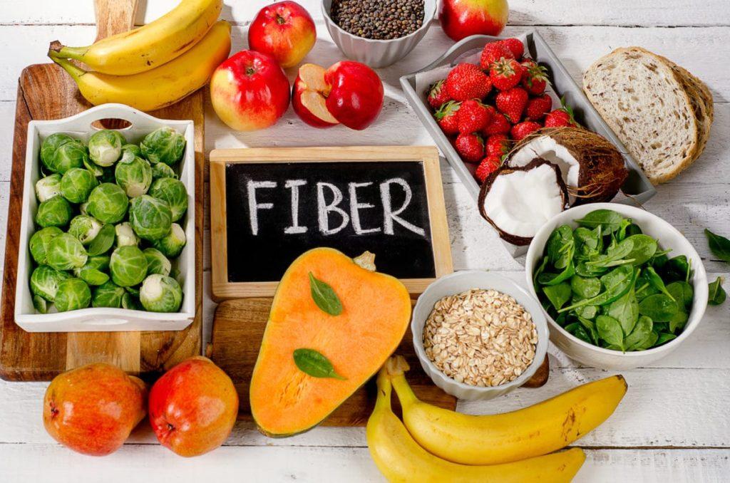 Fruits contains fiber