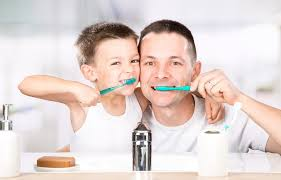 encourage your child to brush their teeth