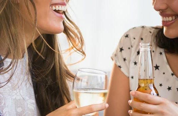 Alcohol effects on teeth