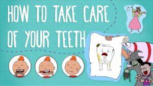 take care of teeth